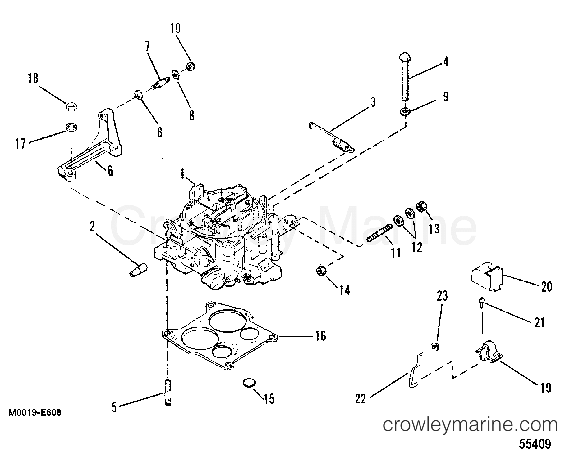 Carburetor And Linkage