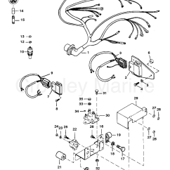 Mercruiser Thunderbolt Ignition Wiring Diagram 3 Overlapping Circles Harness And Electrical Components Iv