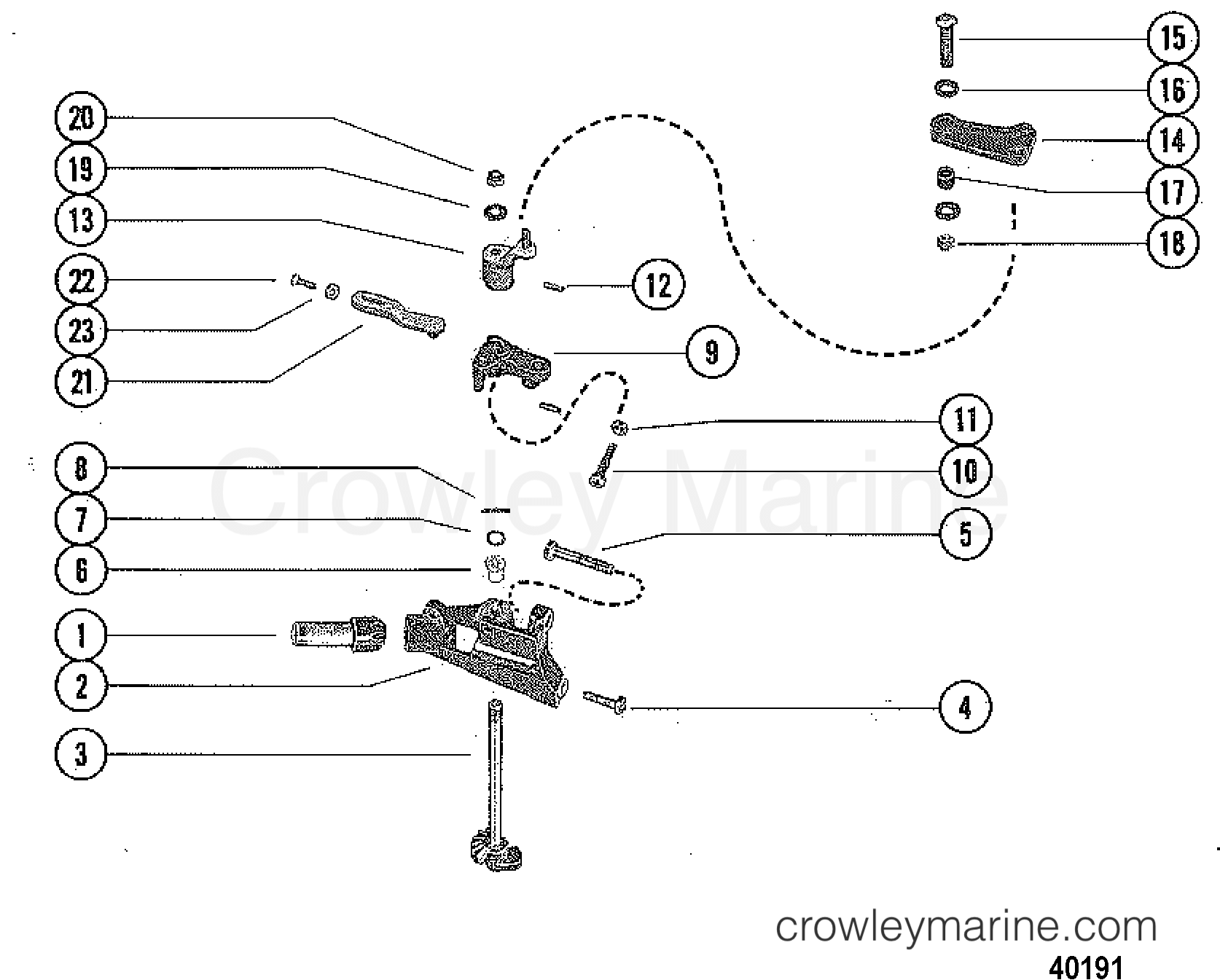 Throttle Control Linkage