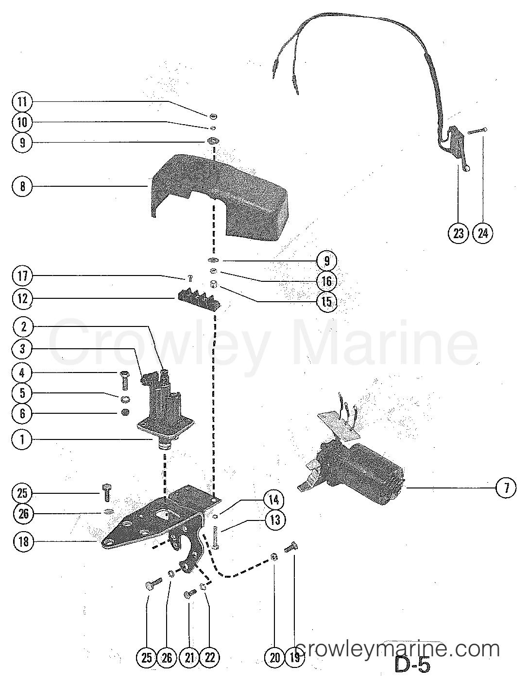 REVERSE LOCK VALVE AND SHIFT ACTUATOR (MCM 228 TR