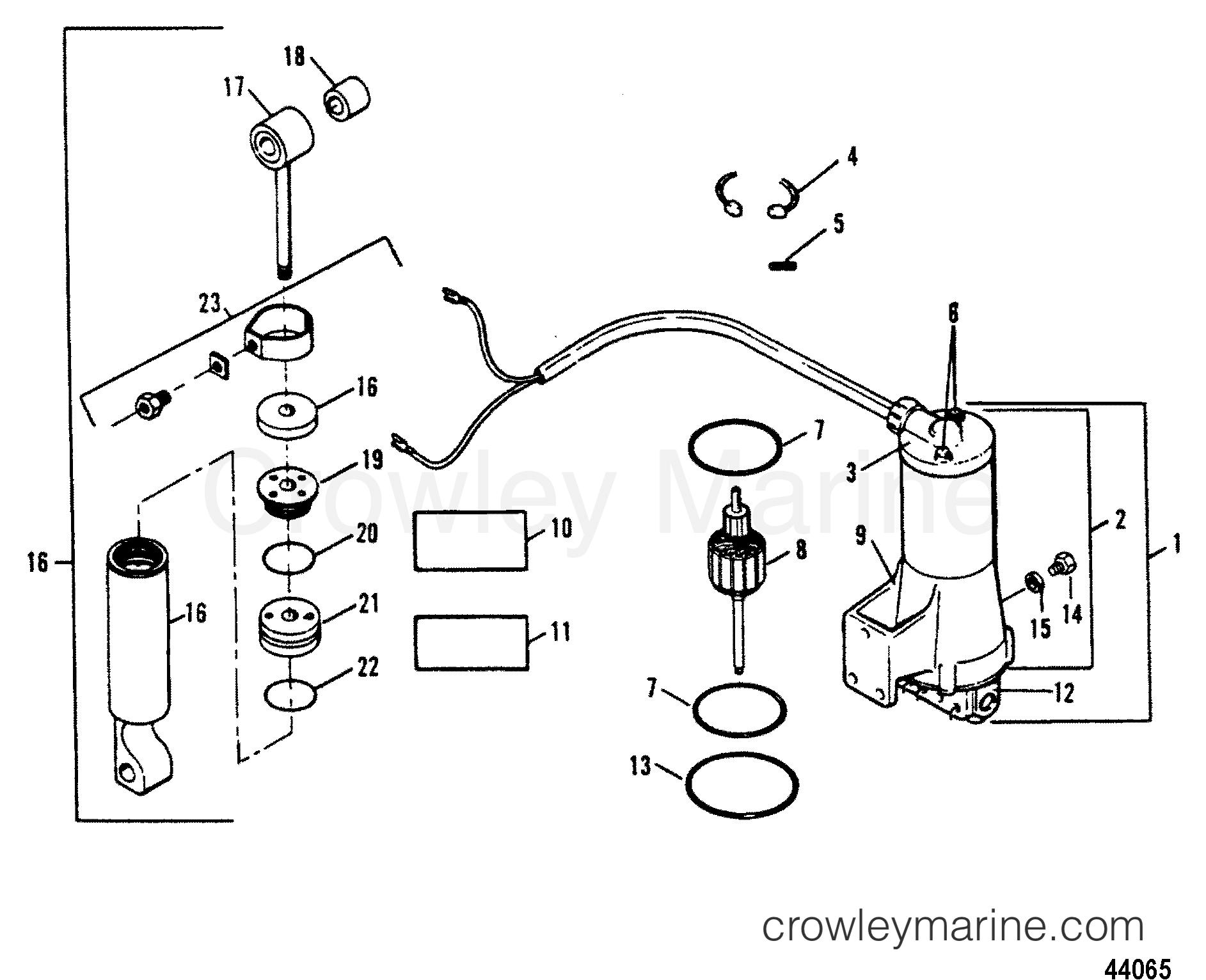 Tilt Cylinder Motor Pump Design I
