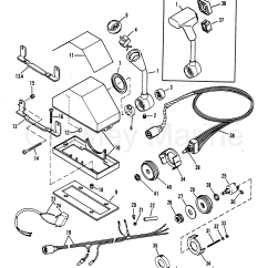 Mercury Quicksilver Throttle Control Diagram Ring Main Spur Wiring Remote Assembly Console 88688a14 A25 A26 A27