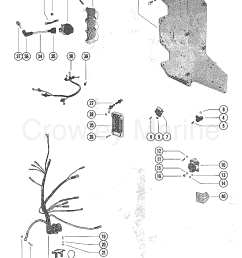 wiring harness switch box and ignition coil 1979 mariner outboard 1979 mariner outboard 90  [ 1084 x 1411 Pixel ]