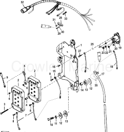 1998 mercury race outboard 150 magnum 7915300gh wiring harness starter solenoid [ 1805 x 2389 Pixel ]