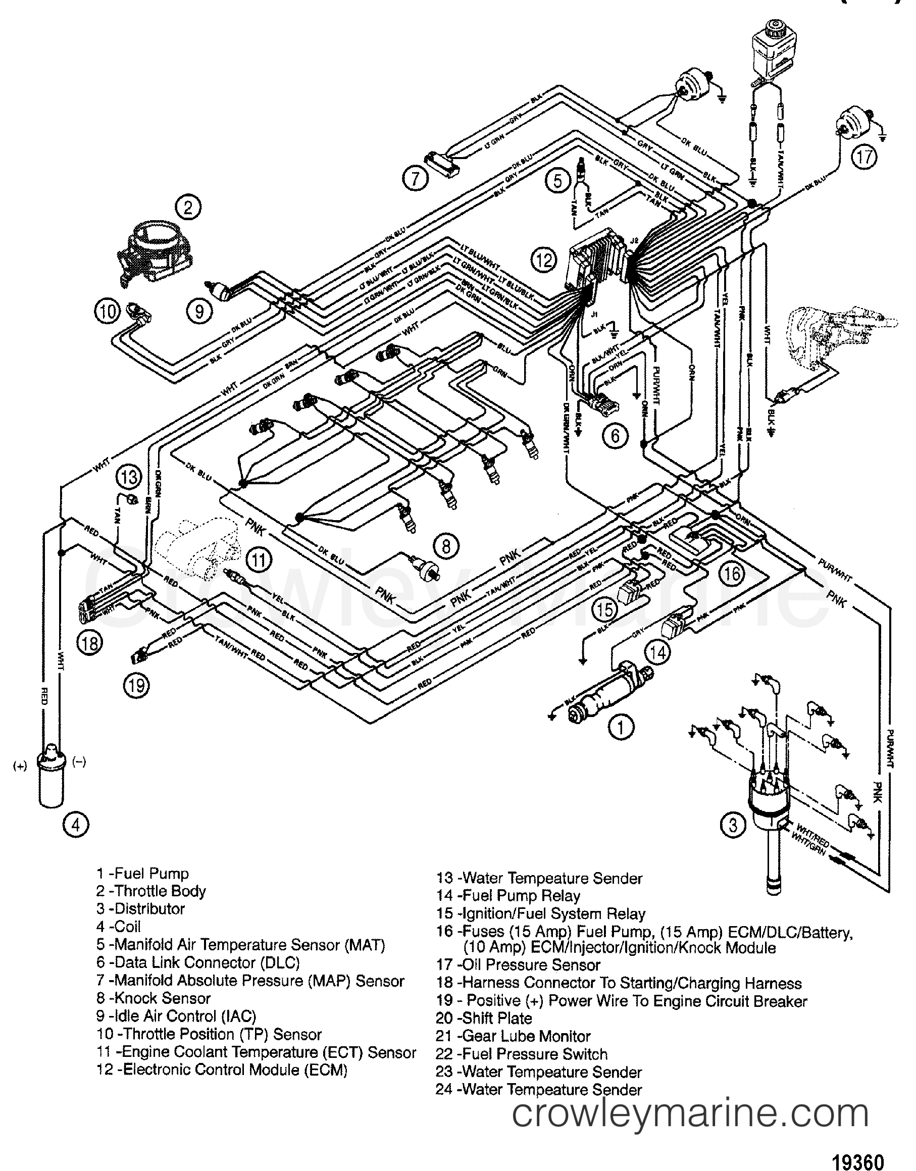 I O Omc 350 Wiring Diagram