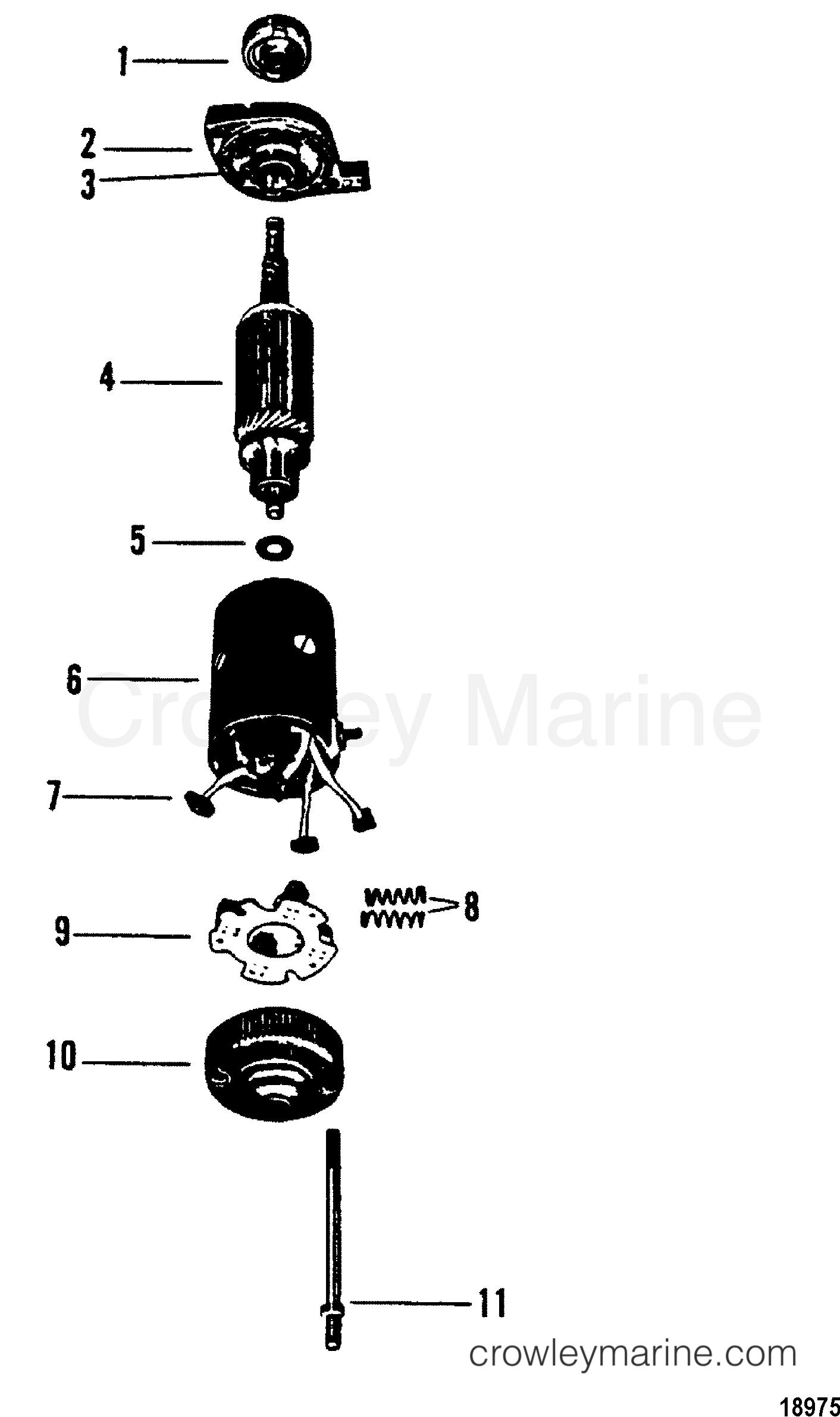 Starter Motor Prestolite Mjl B