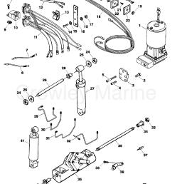 serial range force outboard trim tilt 1984 1999 85 150 [ 1853 x 2362 Pixel ]