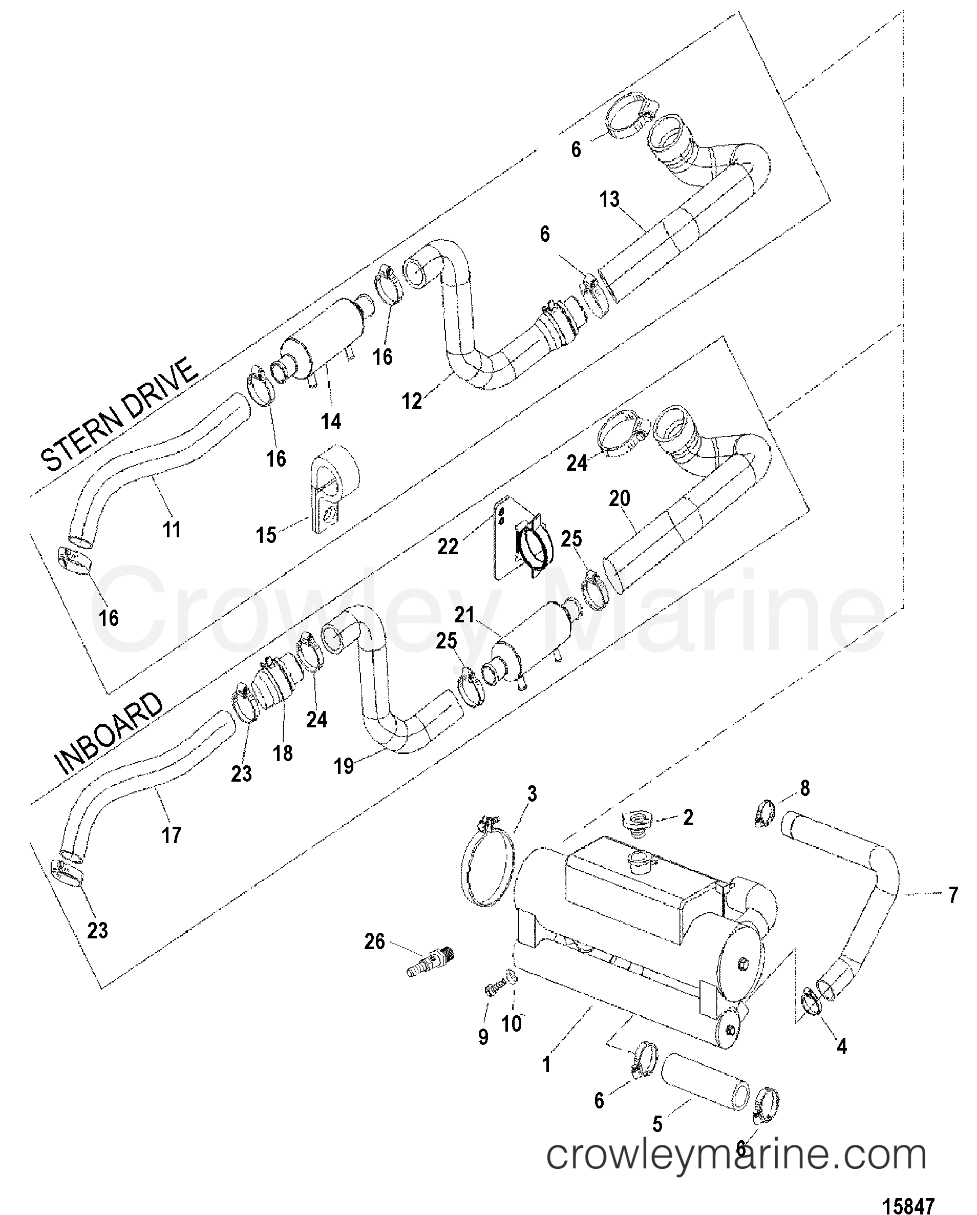 Bayliner Replacement Parts Wiring Diagrams Bayliner Trophy