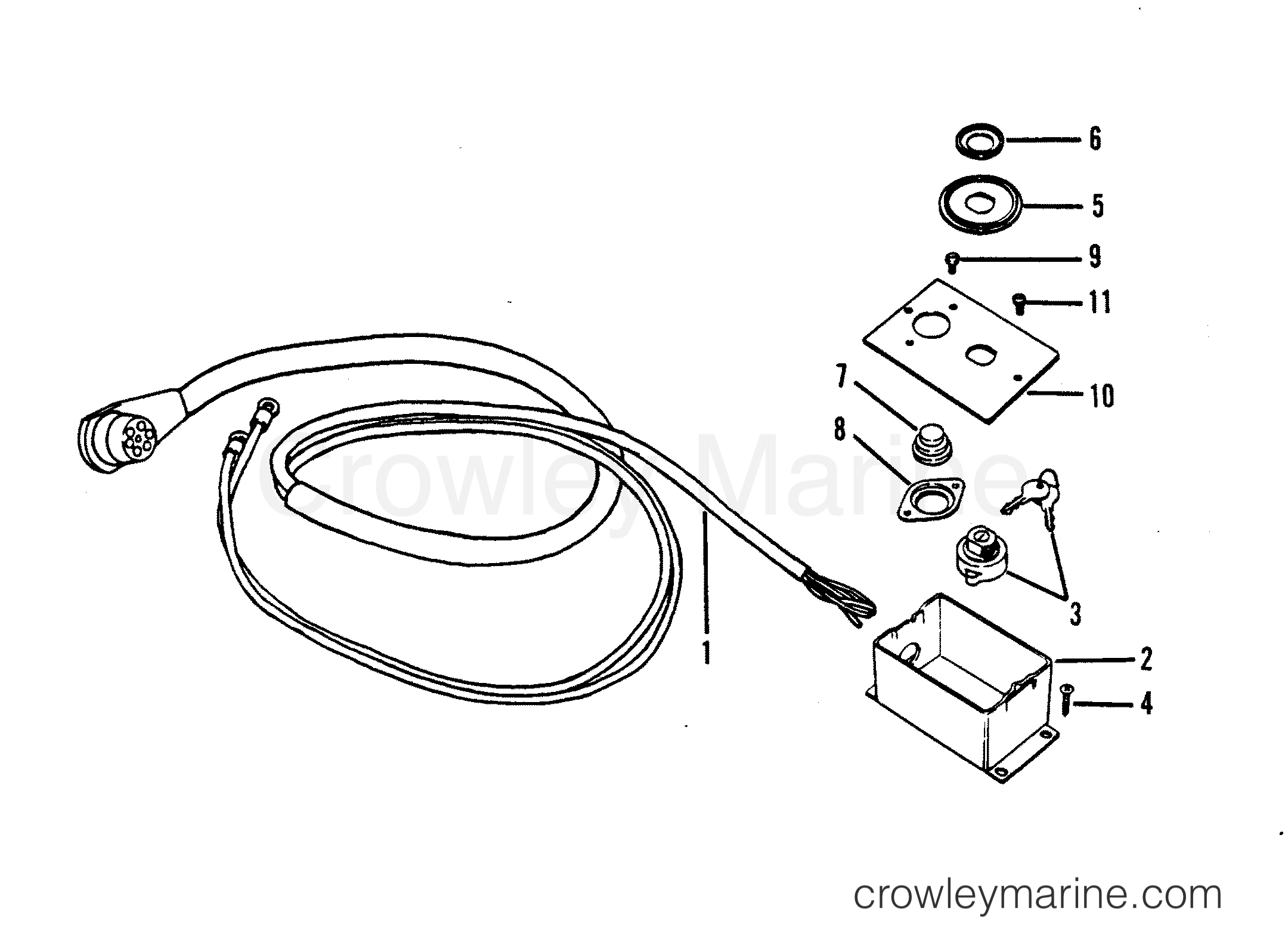 Ignition And Choke Assembly Electric