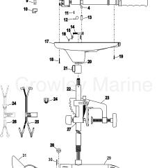 Motorguide Wiring Diagram Msd 6al Hei Distributor Complete Trolling Motor Model T30 12 Volt 2004