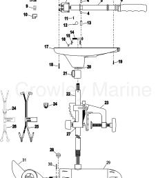 complete trolling motor model t30 12 volt 2004 motorguide 12v rh crowleymarine com motorguide trolling motor wiring schematic motorguide trolling motor  [ 1754 x 2439 Pixel ]