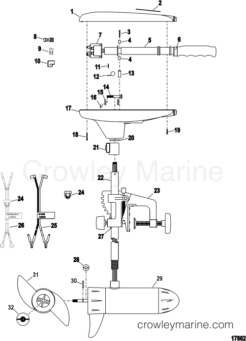 small resolution of complete trolling motor model t30 12 volt 2004 motorguide 12v rh crowleymarine com motorguide trolling motor wiring schematic motorguide trolling motor