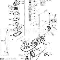Outboard Motor Lower Unit Diagram 277v To 120v Transformer Wiring Gear Housing Driveshaft Standard Rotation Sportmaster
