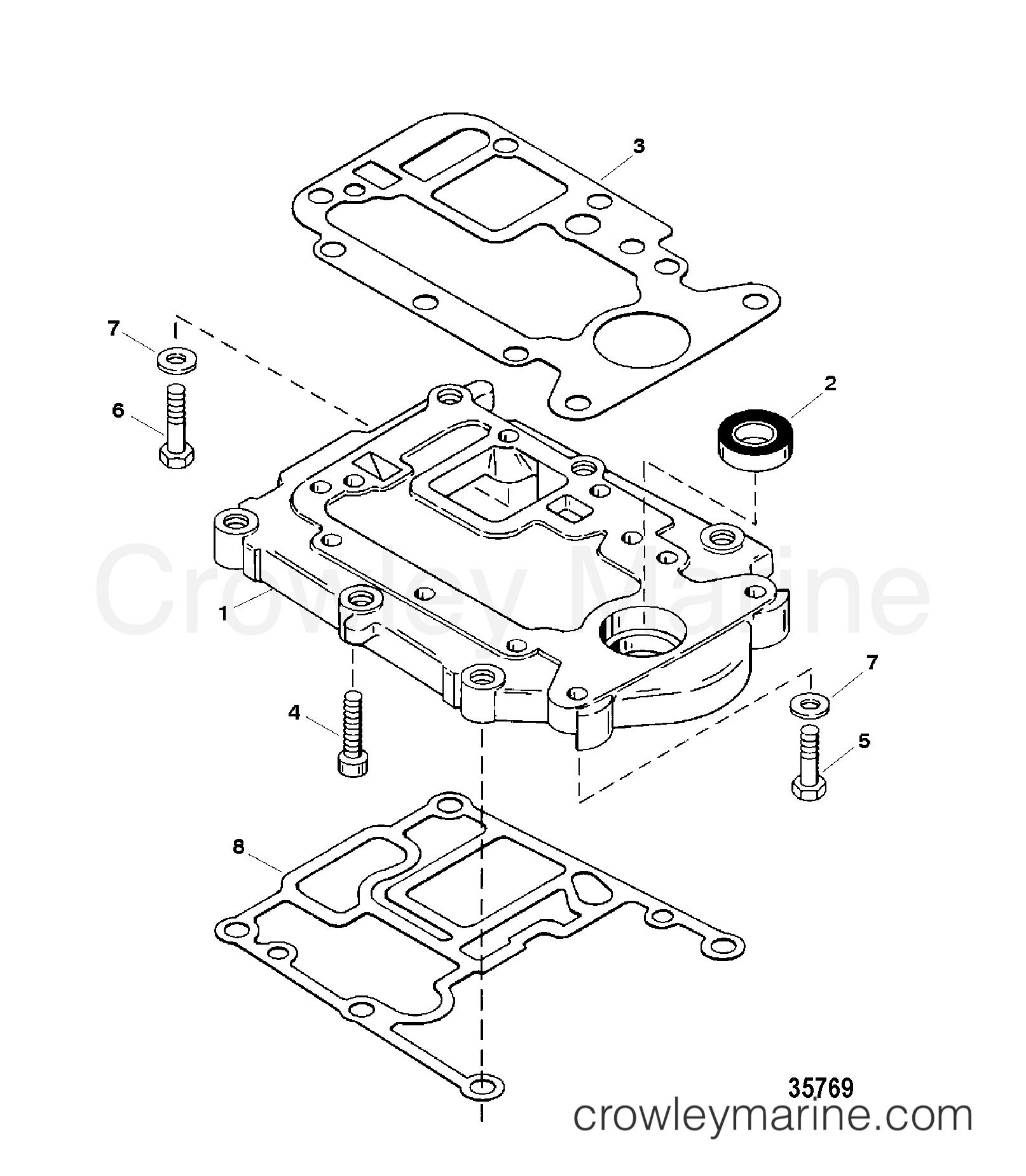 Adaptor Plate Upper