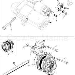 Mercruiser 5 0 Alternator Wiring Diagram Ao Smith 50 Gallon Electric Water Heater Starter And 1998 496 Ho Br Mpi