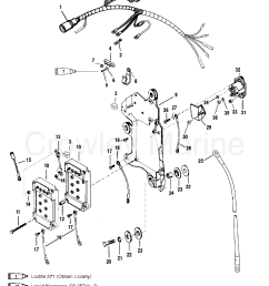 wiring harness starter solenoid 1999 mariner outboard 150efi cxl rh crowleymarine com mercury outboard internal wiring harness mgb wiring harness [ 1834 x 2324 Pixel ]