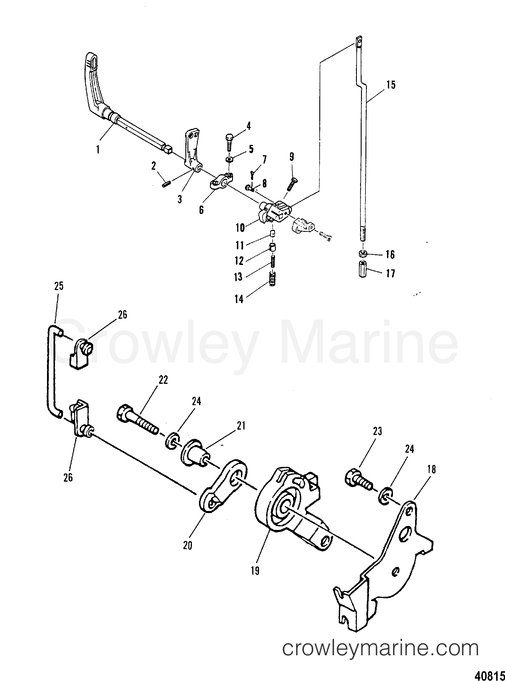 Throttle Control Gear Shift Linkage
