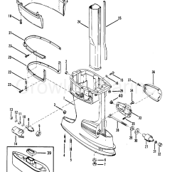 Mercury Outboard Parts Online 1966 Honda Ct90 Wiring Diagram Driveshaft Housing Assembly 1982 50 E