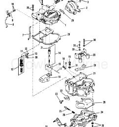 carburetor mercarb 0c856559 thru d447414 0d836076 up 1990 mercruiser 140 carburetor diagram [ 1791 x 2461 Pixel ]
