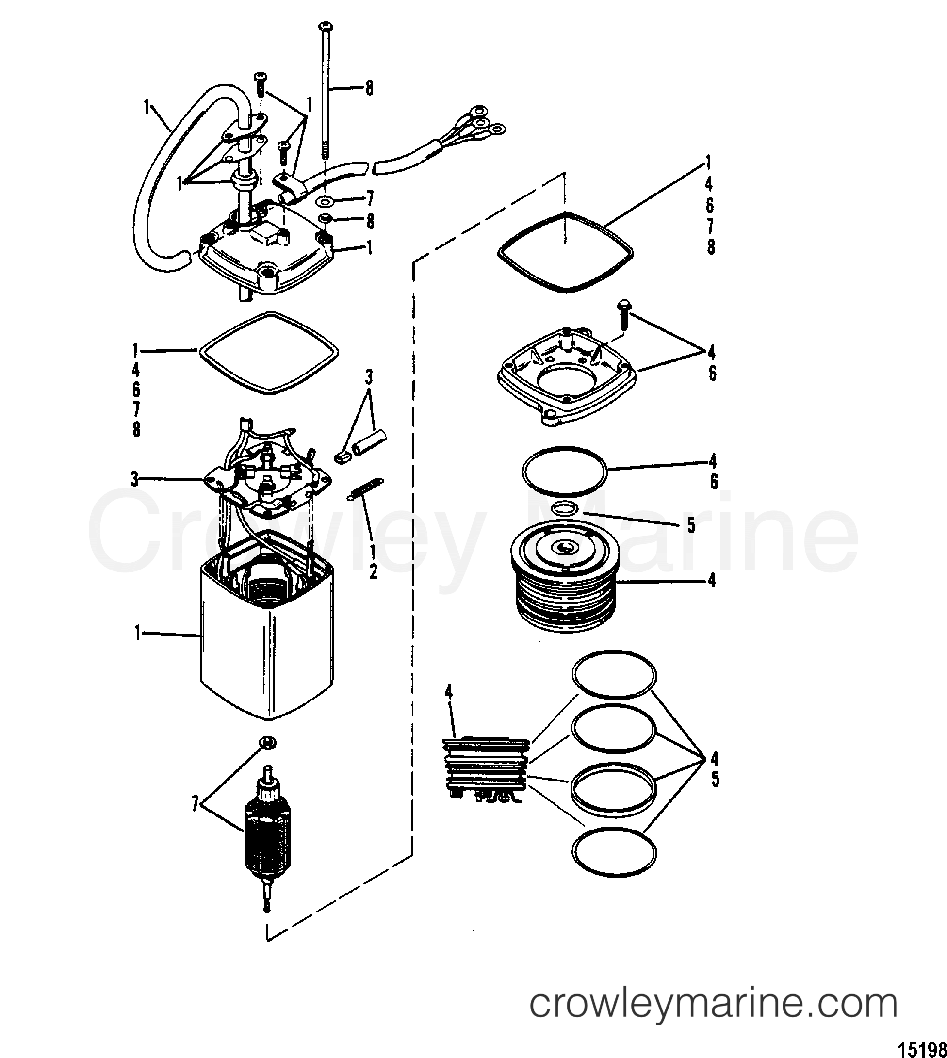 150 Mercury Outboard Parts Diagram Trim. Mercury. Auto