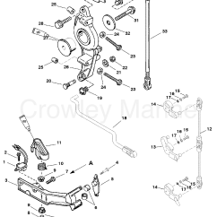 Mercury Outboard Parts Online 2001 Pontiac Grand Am Engine Diagram Anchor Bracket All Models S N 0g303046 And Up 1995