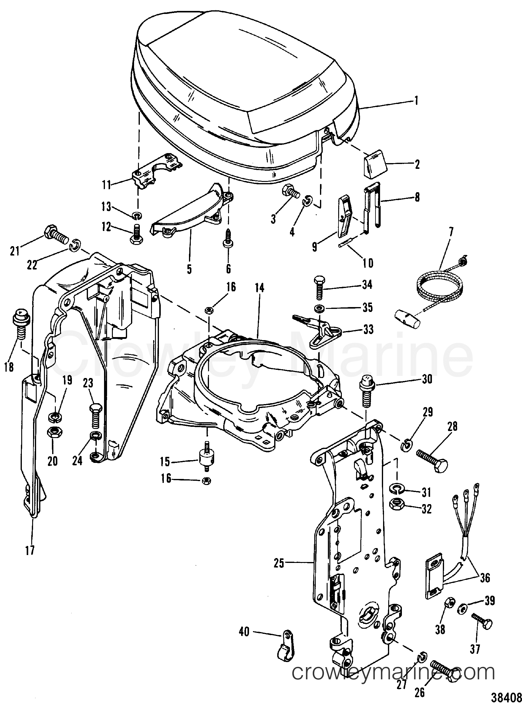 Mercury Outboard 115 Hp Diagram