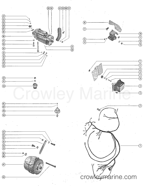 small resolution of mercruiser wiring harness diagram 2 8