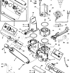 Mercruiser Trim Pump Wiring Diagram Input Template Power And Tilt Kit 826729a4 Various Years Rigging Parts Lift Systems Components 1994 Up