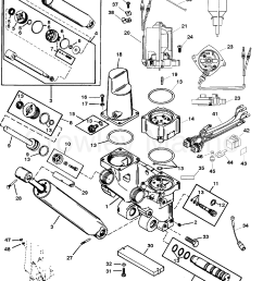 various years rigging parts trim tilt lift systems and components 1994 up [ 1894 x 2441 Pixel ]
