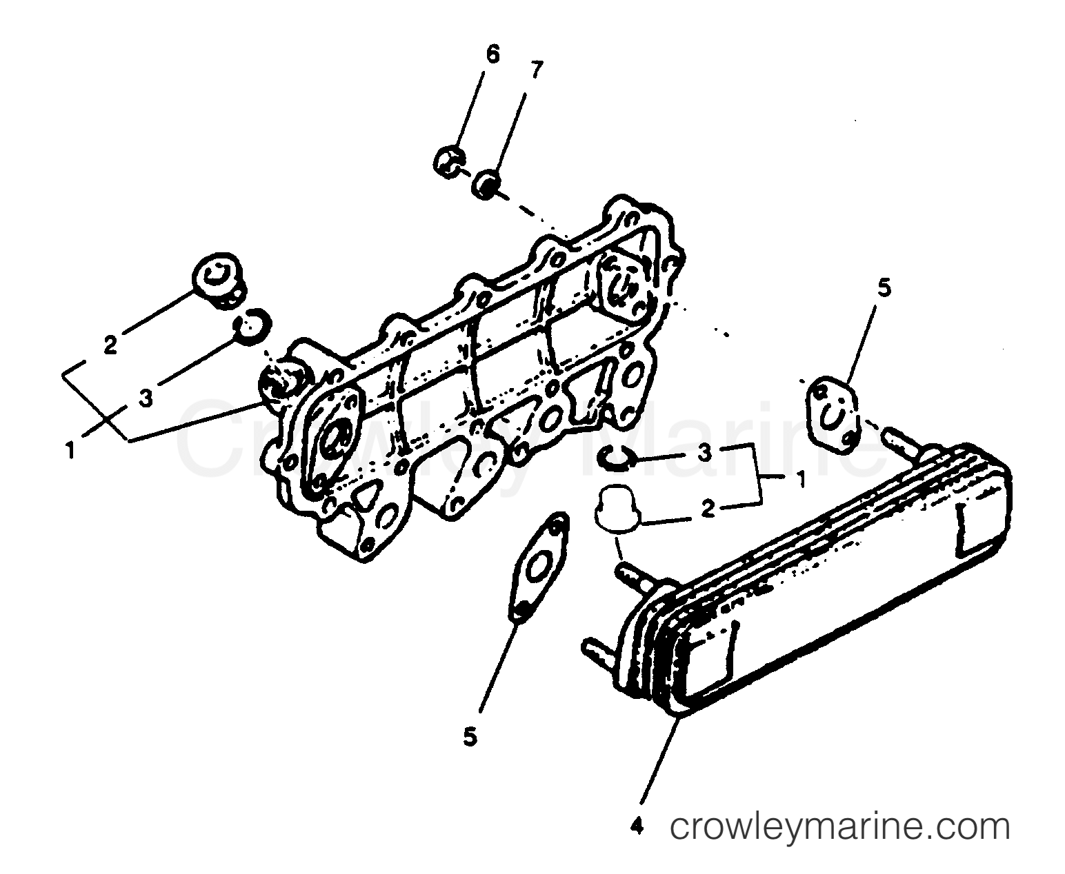 Oil Cooler Assembly