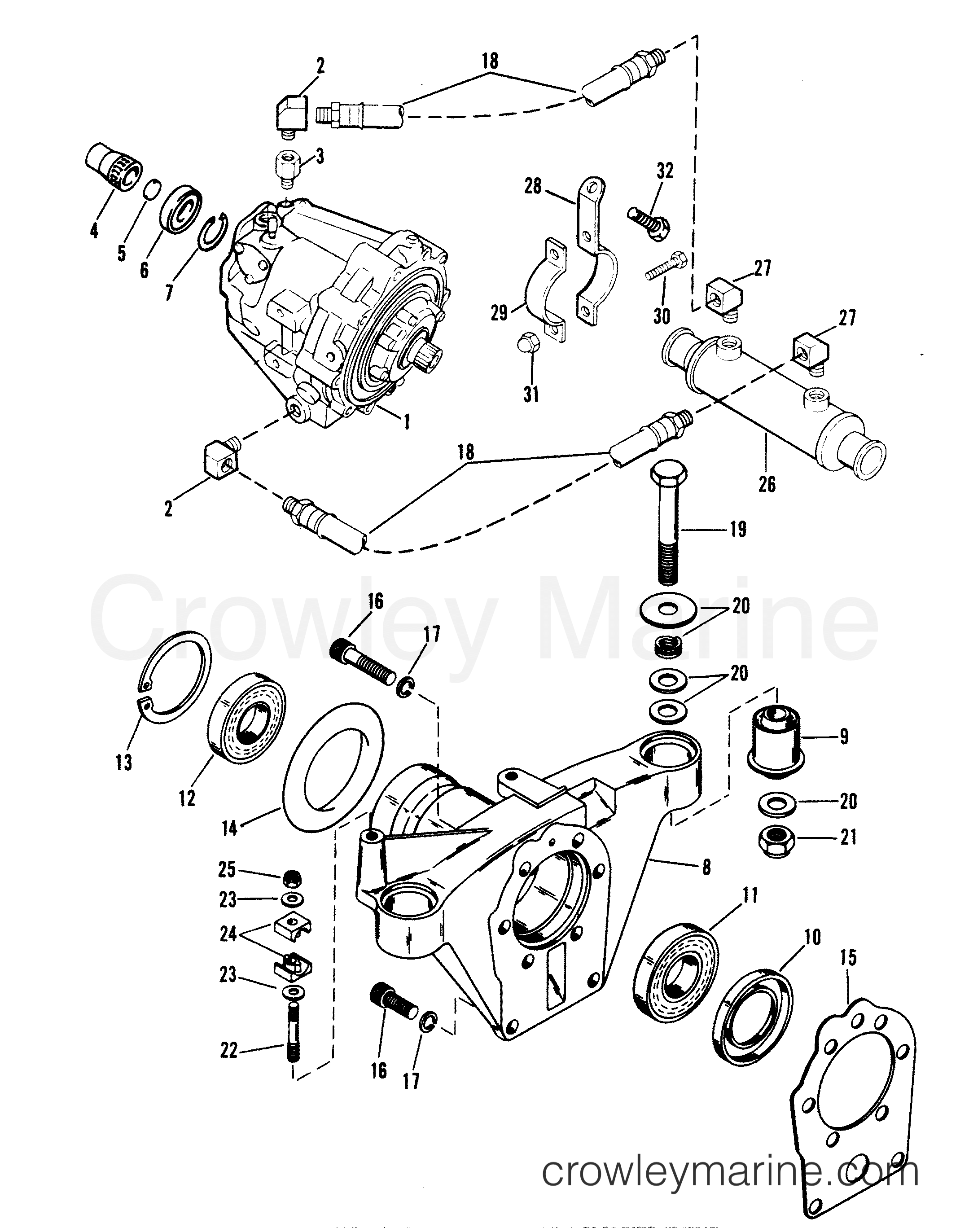 Transmission And Tailstock