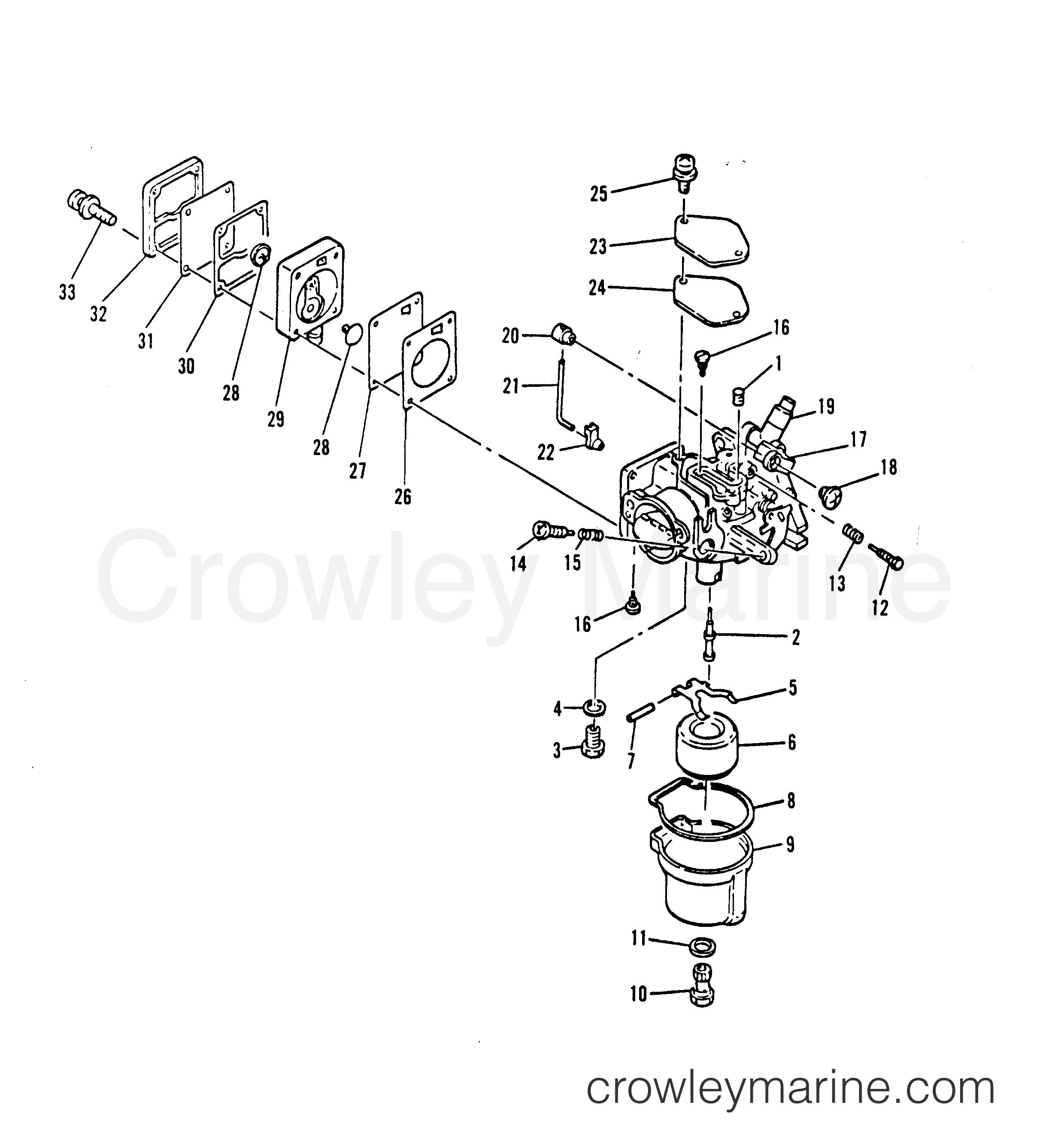 Carburetor Fuel Pump