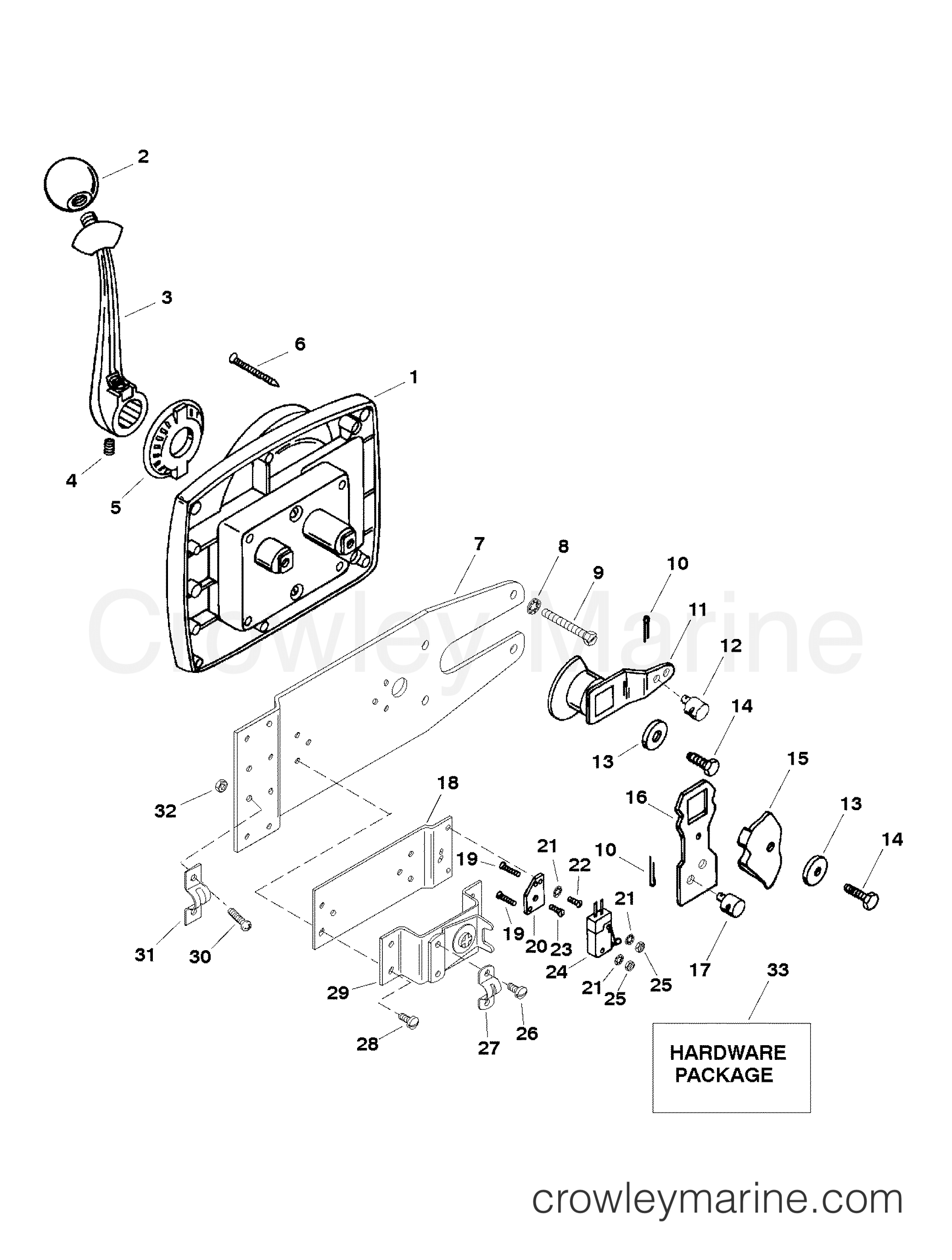 Remote Control Assembly 40 Series