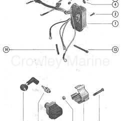 Mercury Outboard Switch Box Wiring Diagram Trail Tech Striker And Ignition Coil 1978 4 Ml