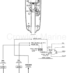 12v Wiring Diagram For Boats Stihl 039 Chainsaw Parts Wire Model 567 24 Volt 2000 Motorguide