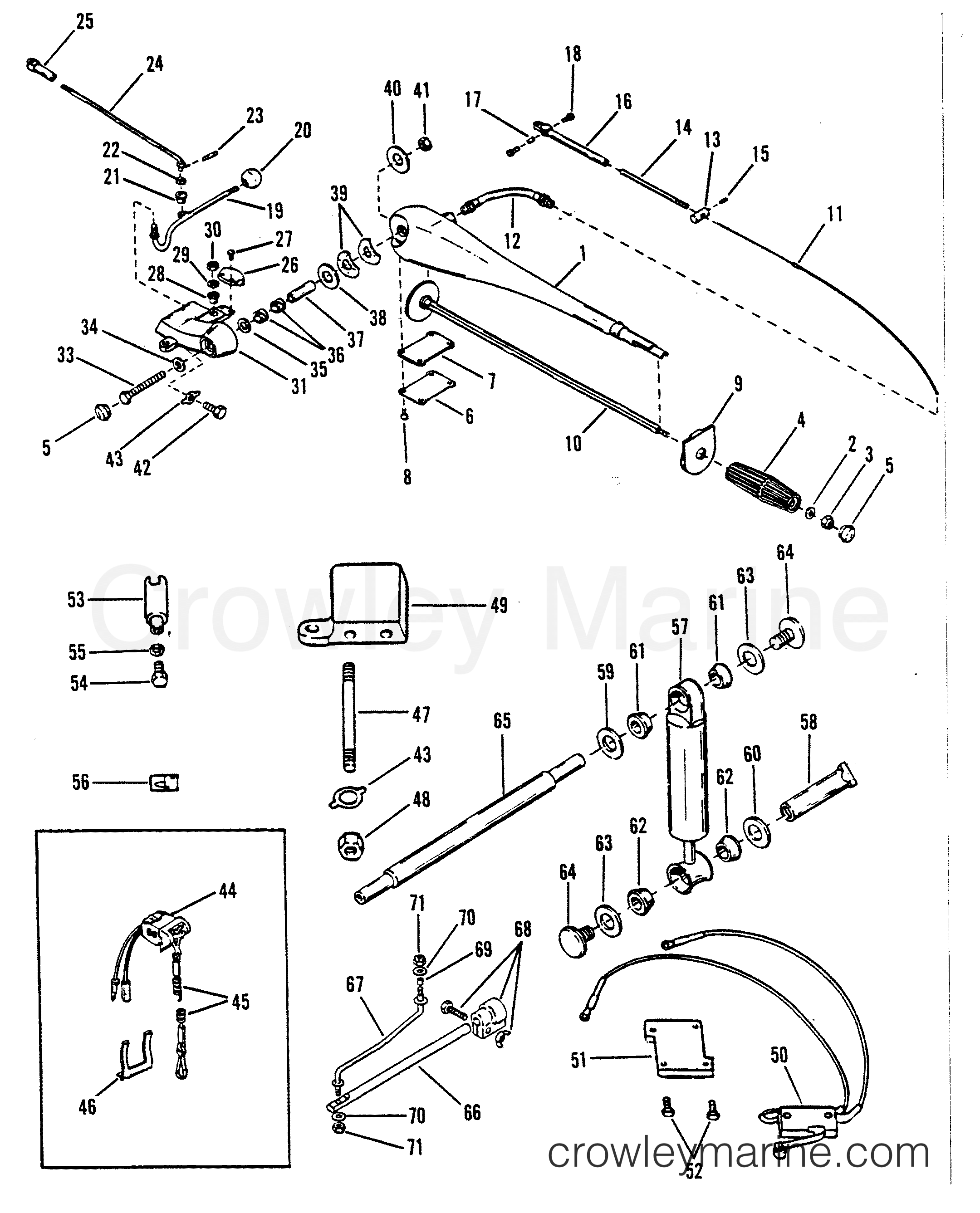 Steering Handle Assembly A