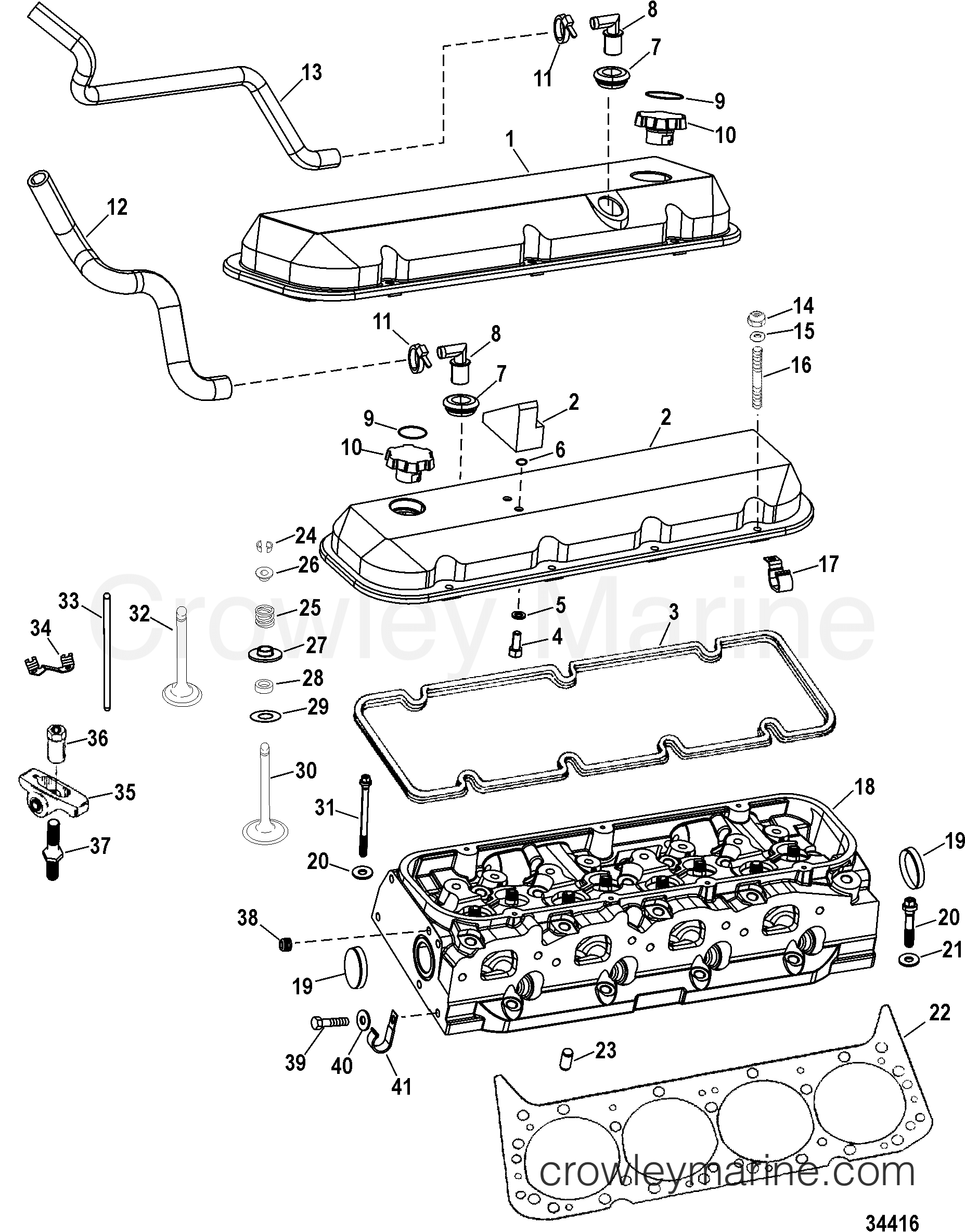 Engine Components Cylinder Head