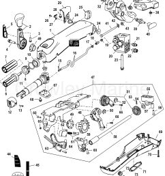 various years rigging parts steering systems and components 1994 1994 up tiller handle [ 1964 x 2478 Pixel ]