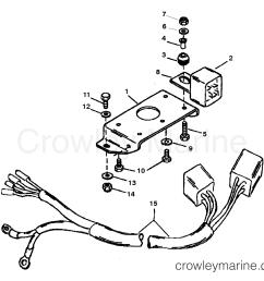 1995 mercury race outboard 225 promax 1925311rh trim solenoid plate s [ 2160 x 1786 Pixel ]