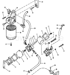 1989 mercury outboard 200xri 1200453gd fuel pump and fuel filter section [ 1989 x 2465 Pixel ]