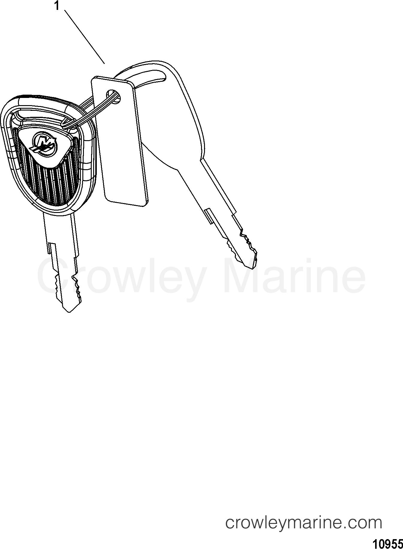 KEY CHART-4 POSITION-WITH MERCURY LOGO(896919 SERIES