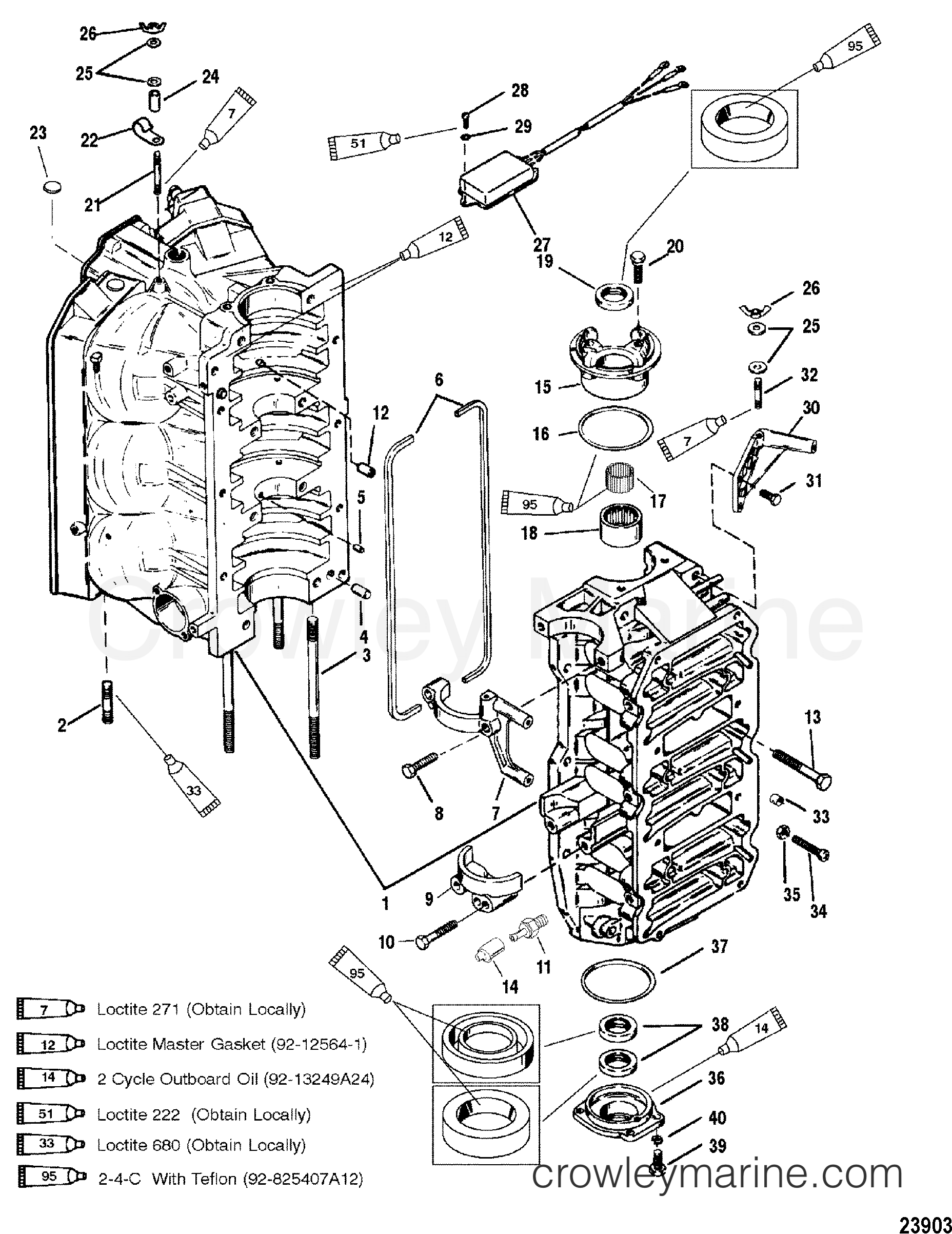 Cylinder Block And End Caps