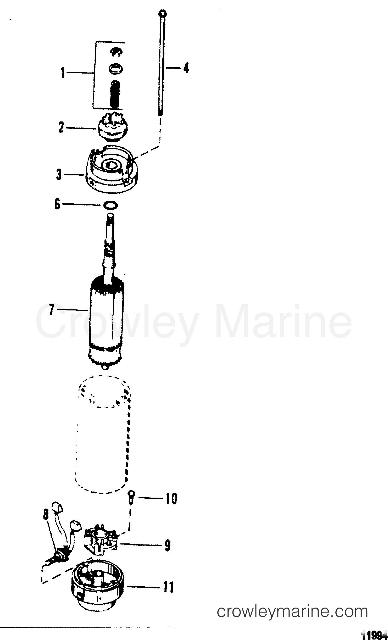 Starter Motor American Bosch 24 M030sm