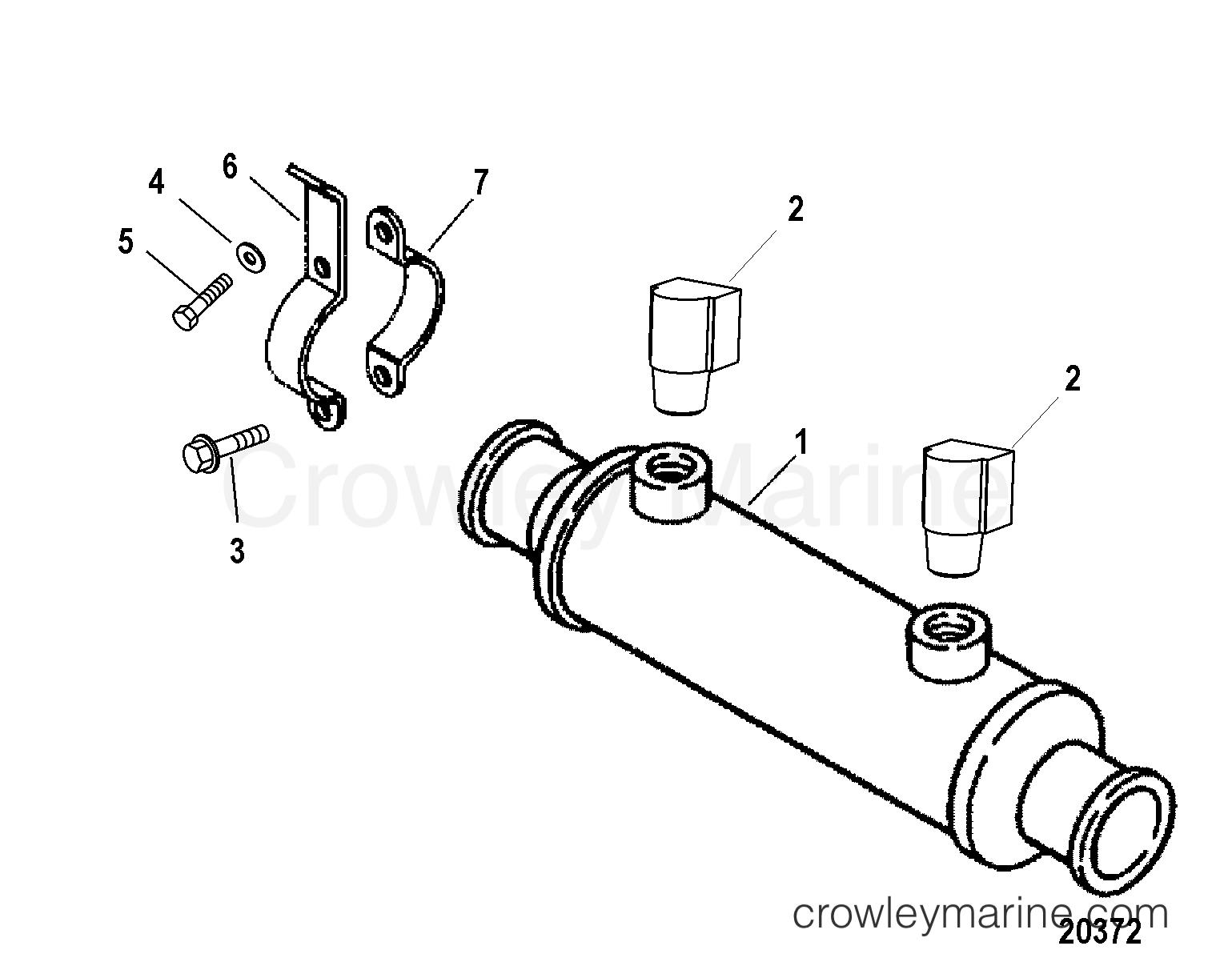 Oil Cooler Transmission Bravo
