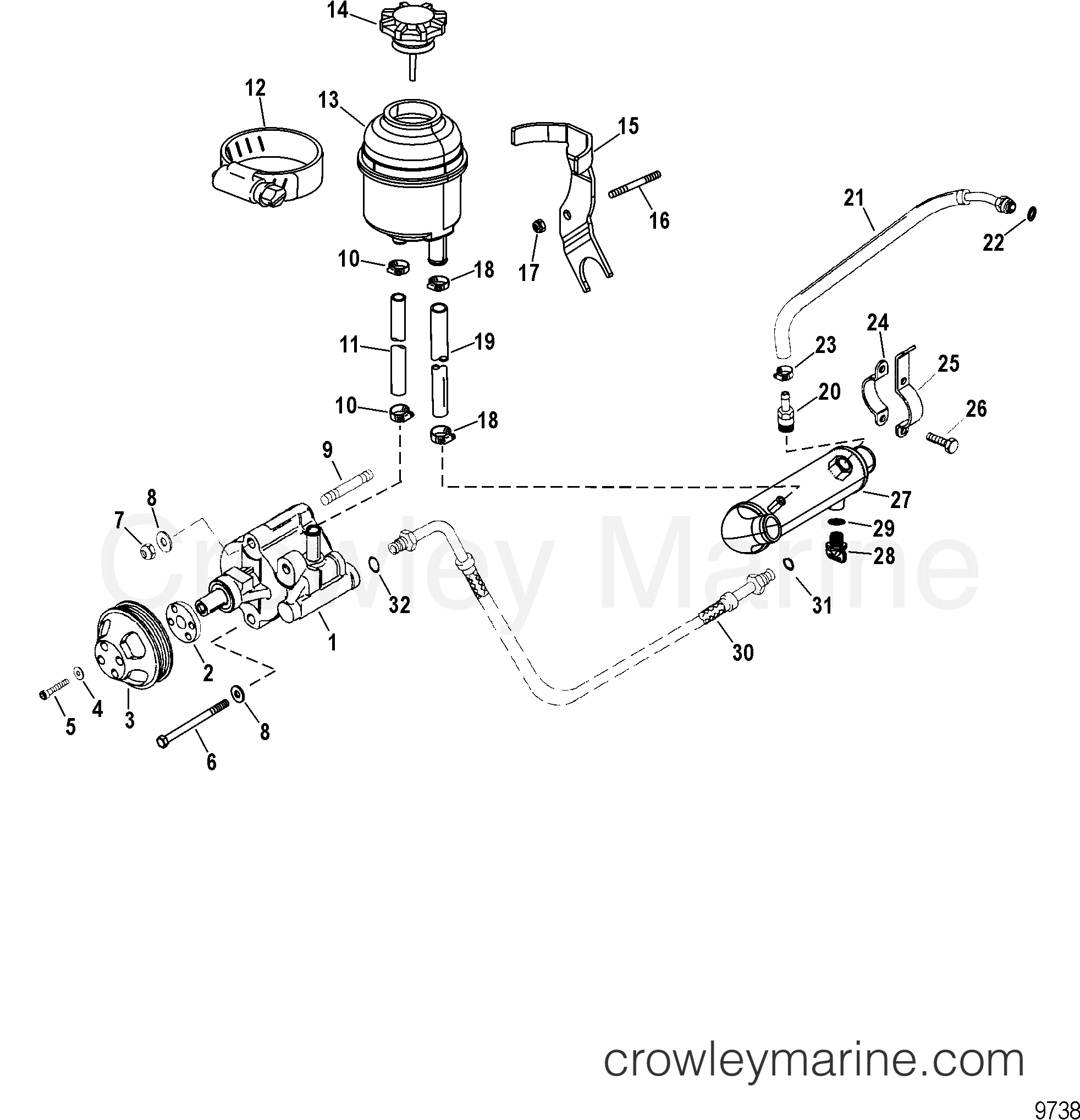 Power Assisted Steering Components A15