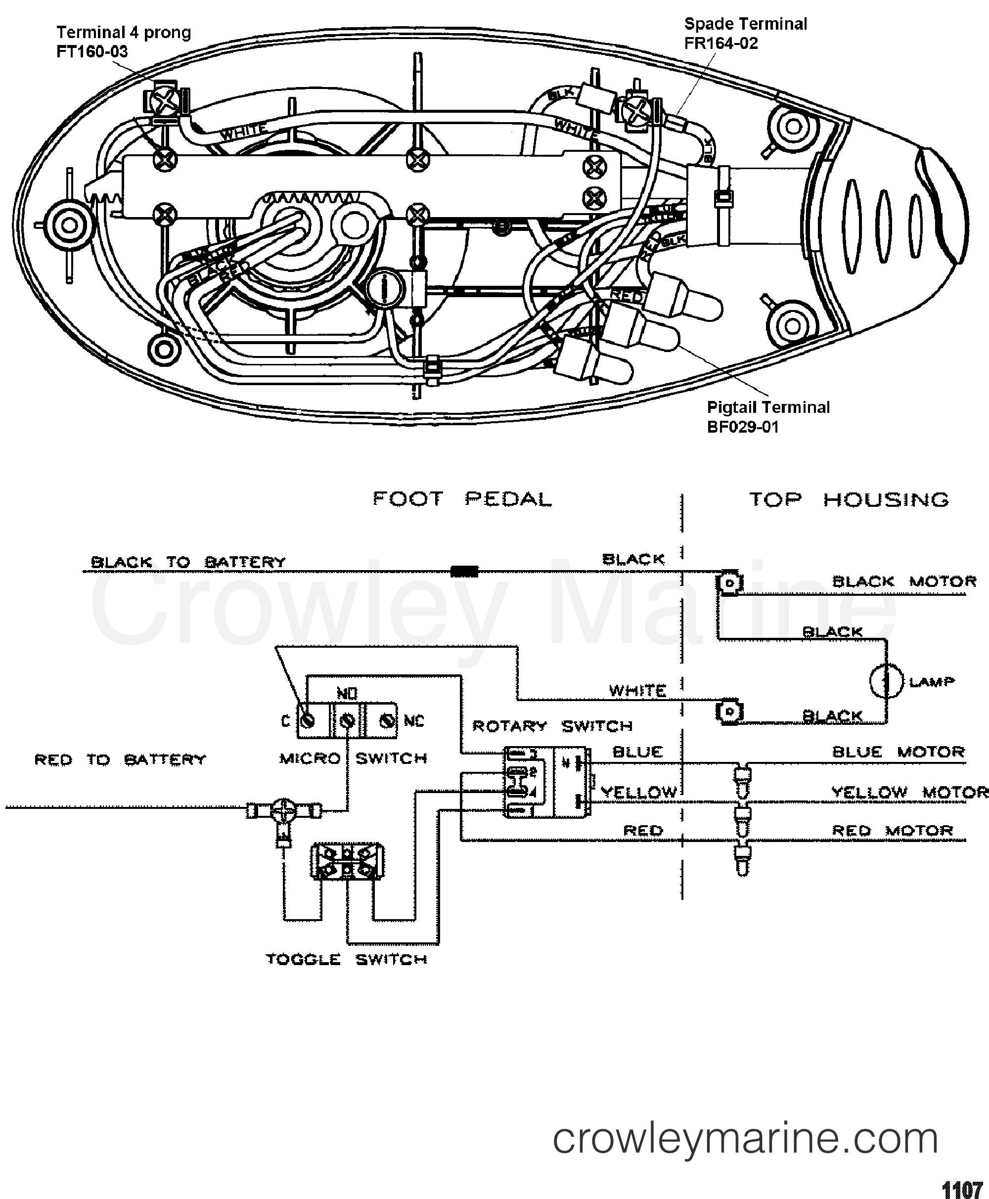 Wire Diagram Model Ef54p 12 Volt