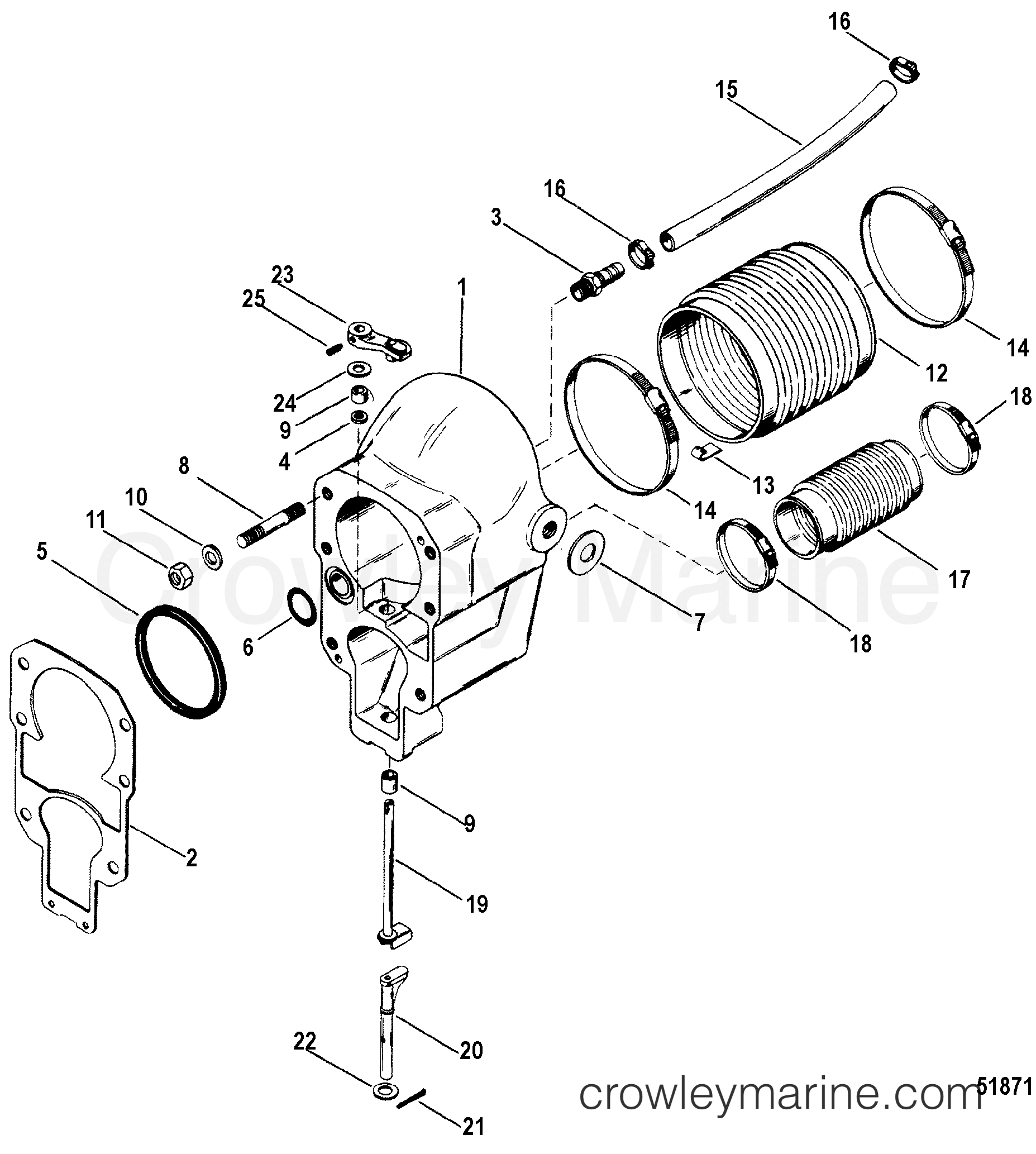 Mercruiser 888 Outdrive Parts Diagram. Diagram. Auto