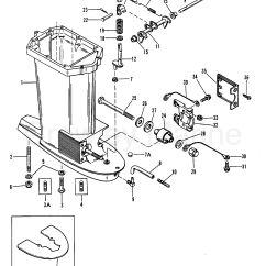 Mercury Outboard Parts Online 1990 Mustang Wiring Diagram Driveshaft Housing 1988 Mariner 75 Elo