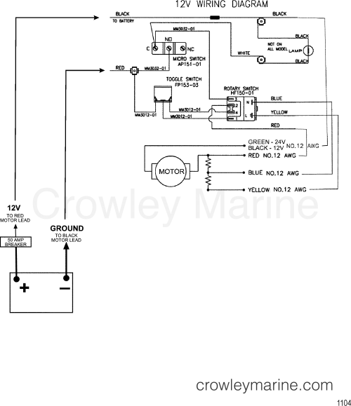 small resolution of 1999 motorguide motorguide 9767b4hv7 wire diagram model 743 12