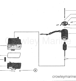 1977 mercruiser 228 2228107 hydraulic pump assembly complete section [ 1085 x 859 Pixel ]